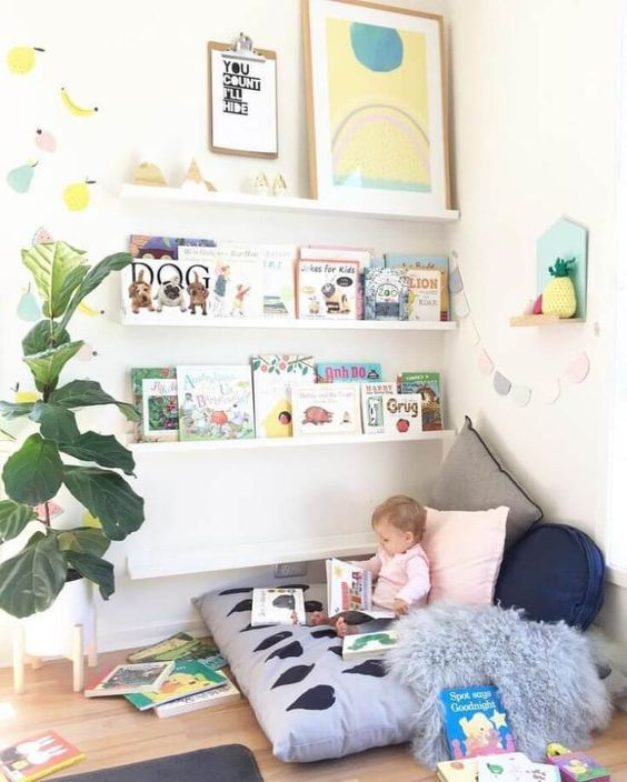 Cute with Fruit - Little Girl Bedroom Ideas for Small Rooms