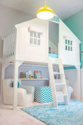 A Bed or a Cubby House - Children Room Ideas