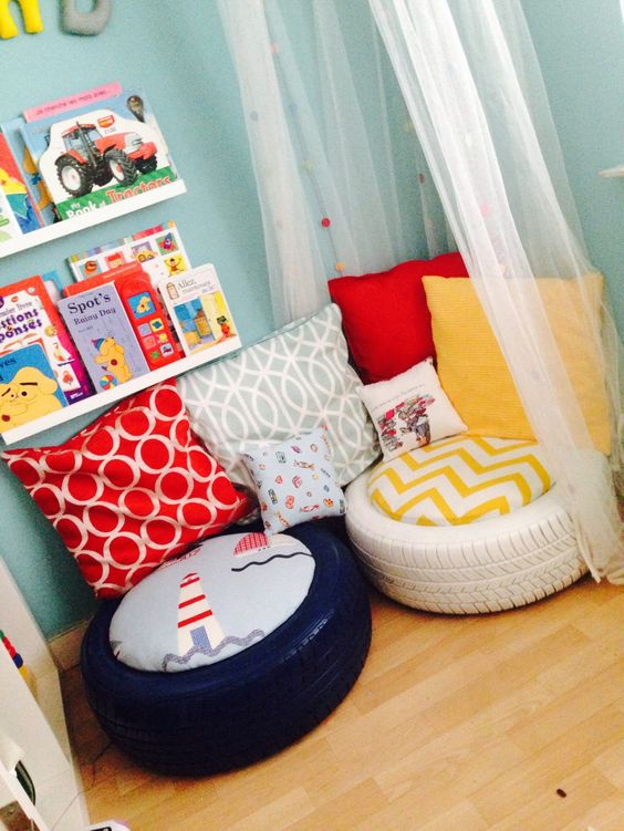 A Space for Reading - A Mini Library