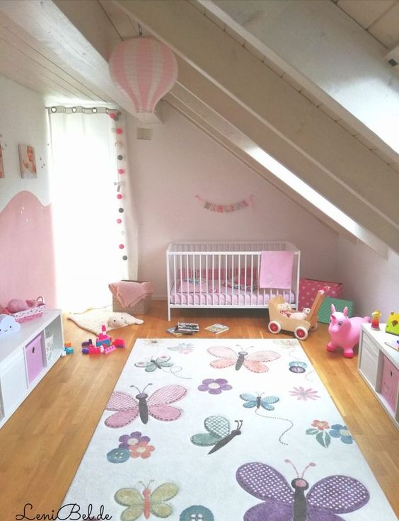 Pretty in Pink - Little Girl Bedroom Ideas for Small Rooms