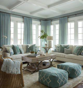 Stunning Seaside Vibes - Using Blue as the Dominant Colour