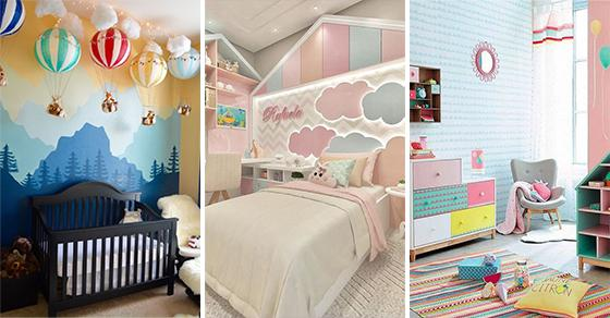 40 CHILDREN ROOM IDEAS - Little Girl Bedroom Ideas for Small Rooms