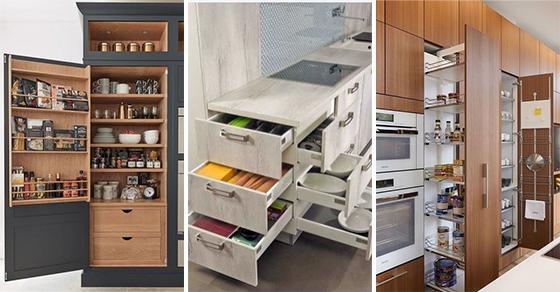 25 KITCHEN CABINET ORGANIZATION IDEAS - Kitchen Cabinet Storage Ideas