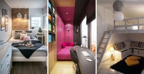 25 SMALL BEDROOM DECORATING IDEAS ON A BUDGET - Small Bedroom Ideas