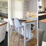 25 SMALL KITCHEN ISLAND WITH SEATING – Small Kitchen Island Ideas with Seating