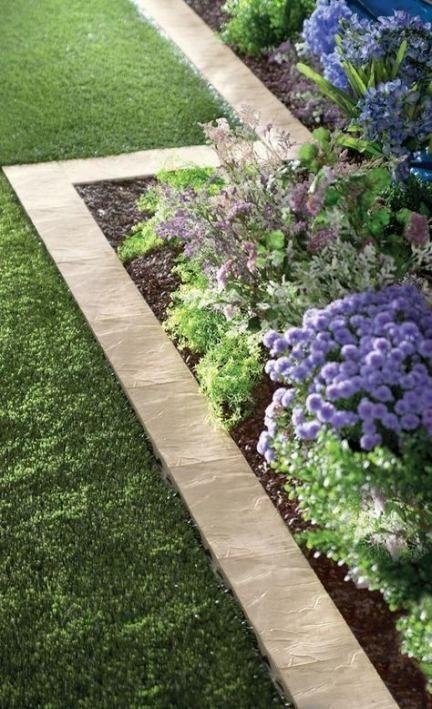 Simple in Stone – Garden Edging Ideas