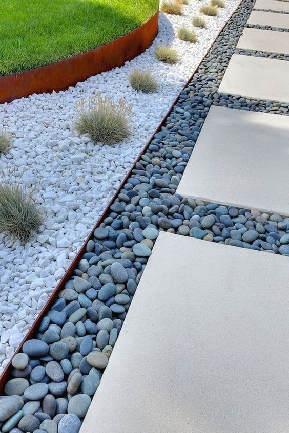 Different Coloured Pebbles - A Calming Ambience