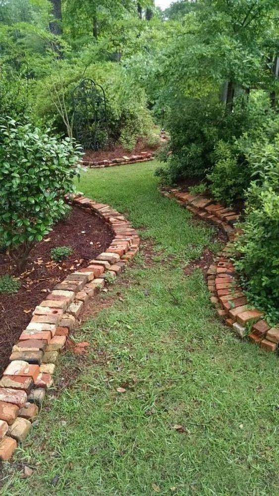 Achieve Brilliance with Bricks – Garden Edging Designs