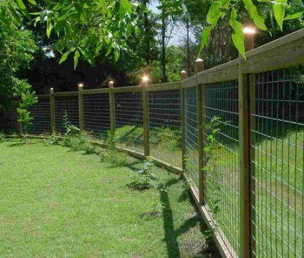 Perfect for Puppies - Very Cheap Garden Fence Ideas