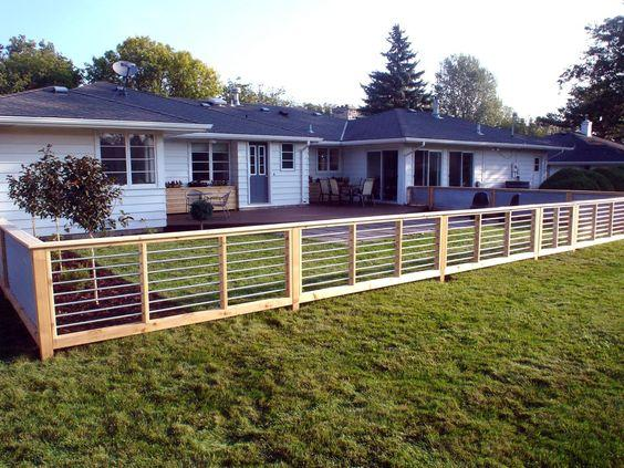 Modern Style Sheet Metal Fence - Simple and Stylish