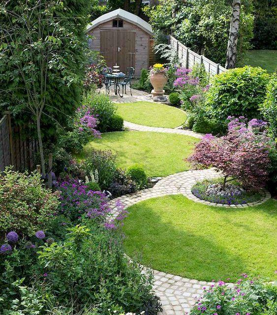 Filled with Flowers – Create a Small Pathway