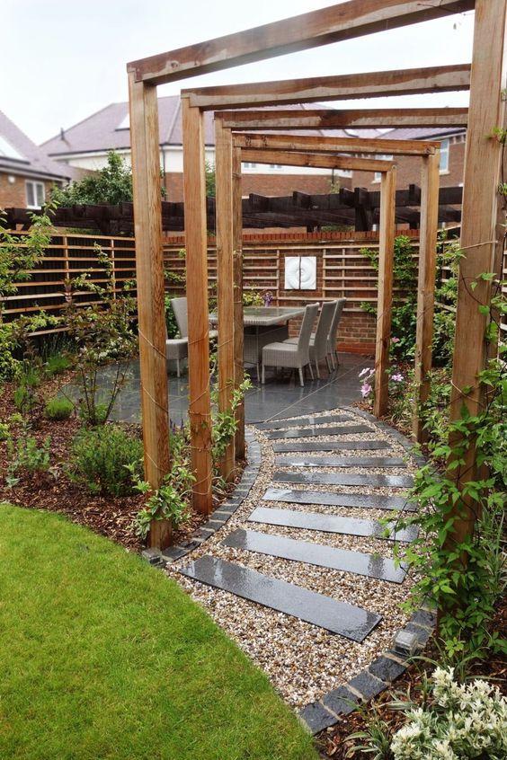 Garden Arches - Lovely Small Garden Design Ideas