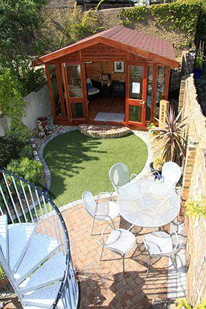 Build a Shed – Very Small Garden Ideas on a Budget