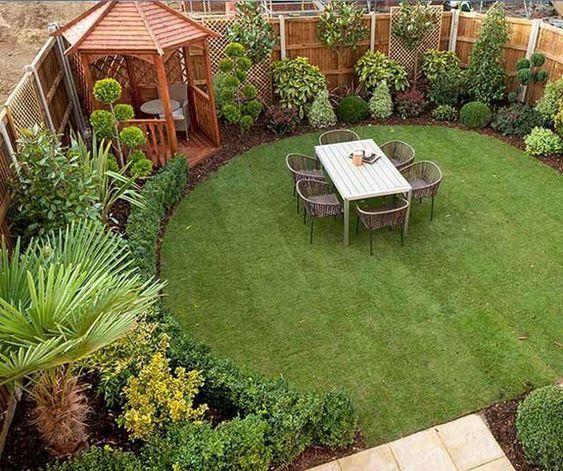 An Easy Design - Very Small Garden Ideas on a Budget