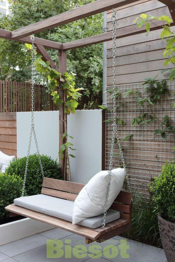 A Garden Swing You Will Love - Backyard Design Ideas