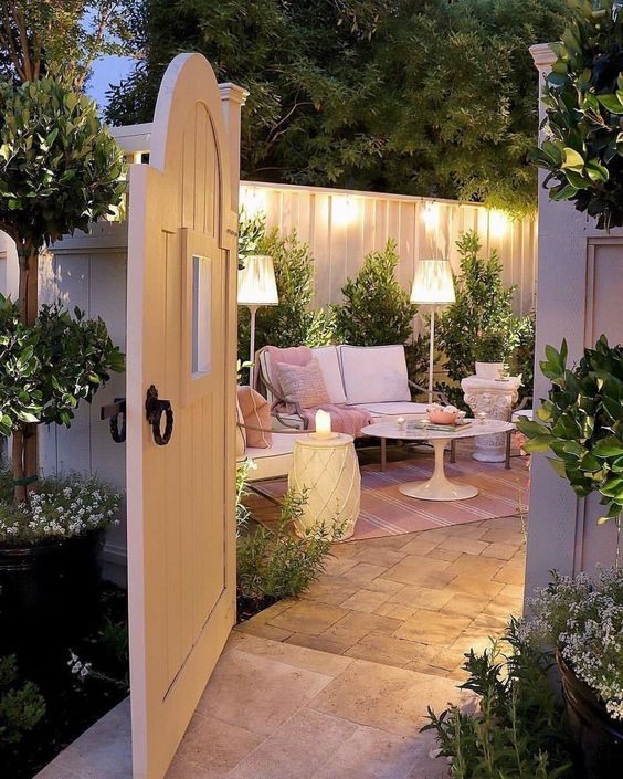 A Small Patio - Chilling in Your Garden