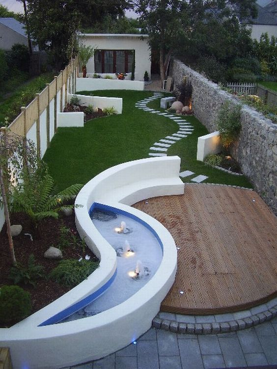 A Combination of Everything - Backyard Landscaping Ideas