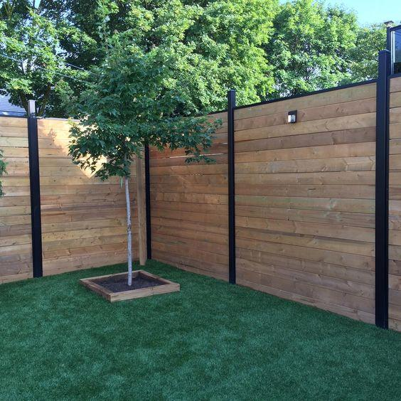 High Fences - Creating Enough Privacy