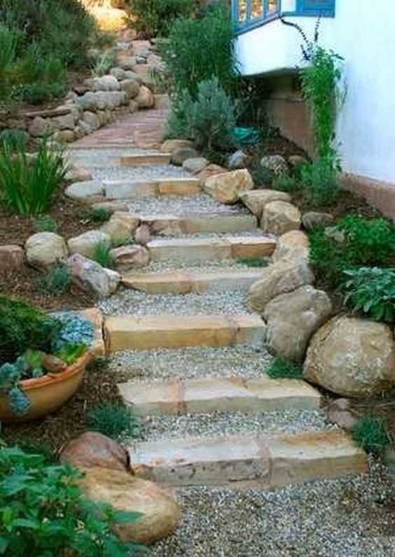 Designing Your Garden Stairs – Simplistic and Tranquil