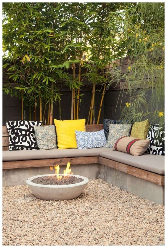 Warming Up by the Fire – Backyard Landscaping Ideas