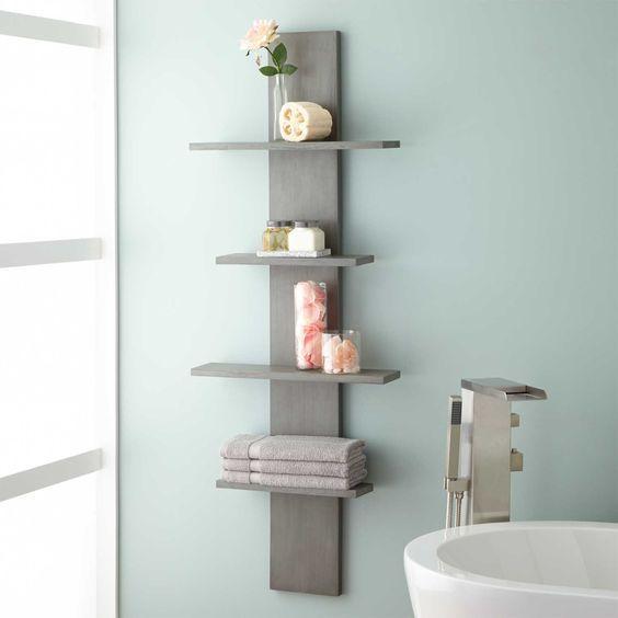 Modest and Smart - Bathroom Wall Shelves