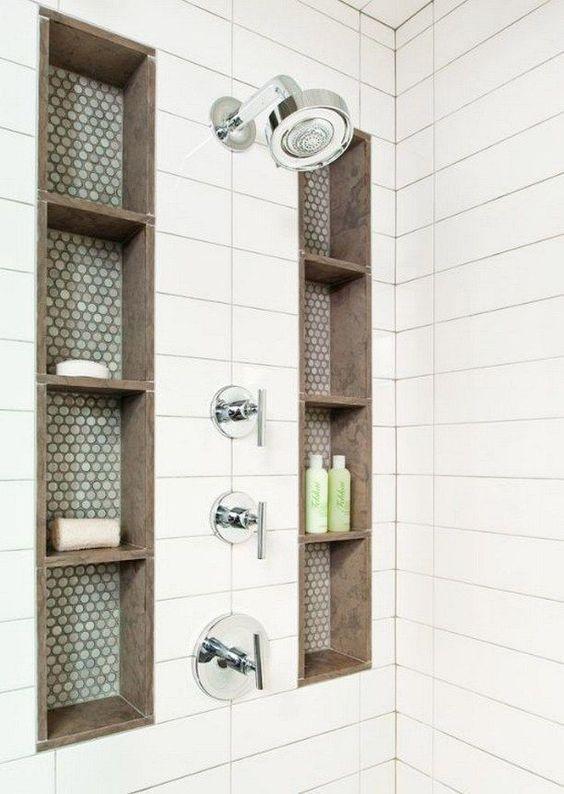 Have Them Built-In - Shower Shelves
