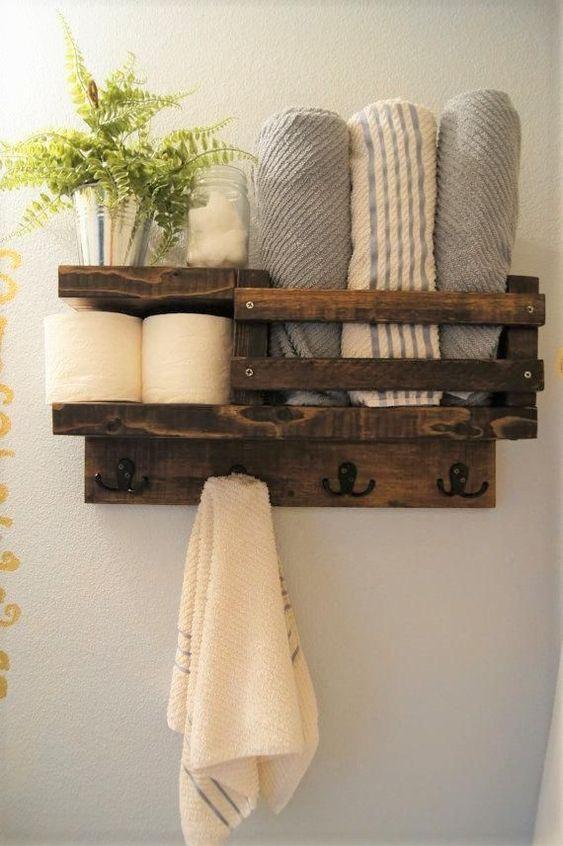 Make it Yourself - Decorative Bathroom Shelf Ideas
