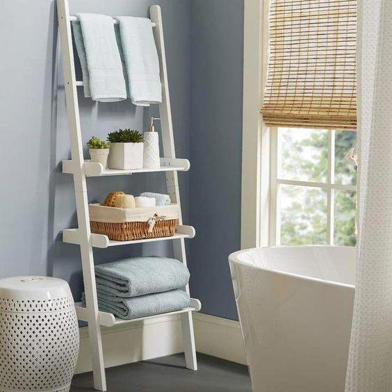 A Unique Ladder – Creative Storage Space