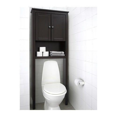 Frame the Toilet - Decorative Bathroom Shelf Ideas