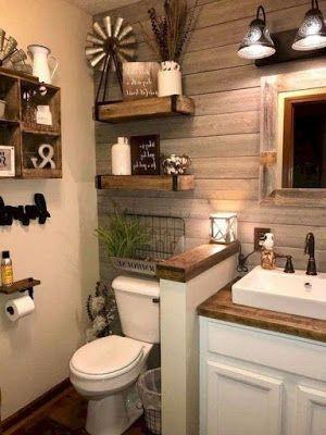 The Farmhouse Look – The Best Bathroom Design Ideas
