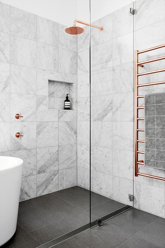 Magnificent in Marble - With Rose Gold Accents