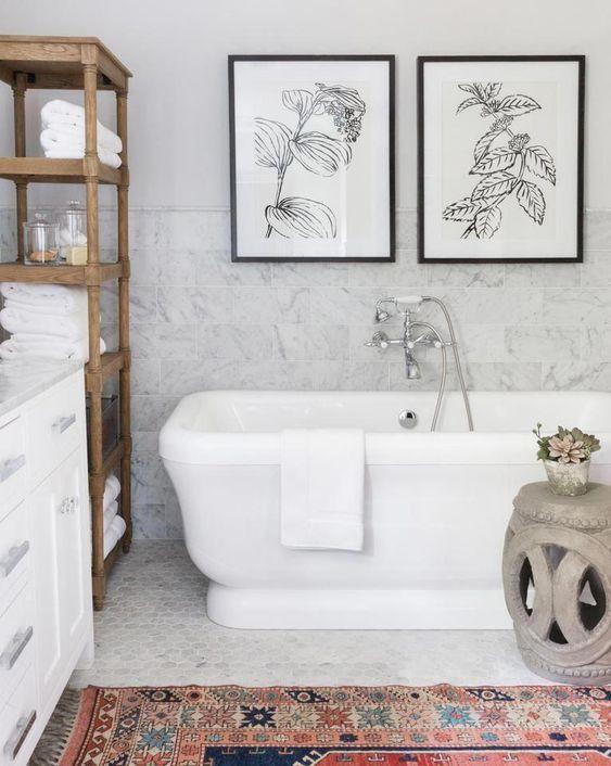 Bohemian and Stylish - Best Bathroom Design Ideas