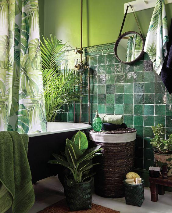 A Jungle Ambience – Gorgeous in Green
