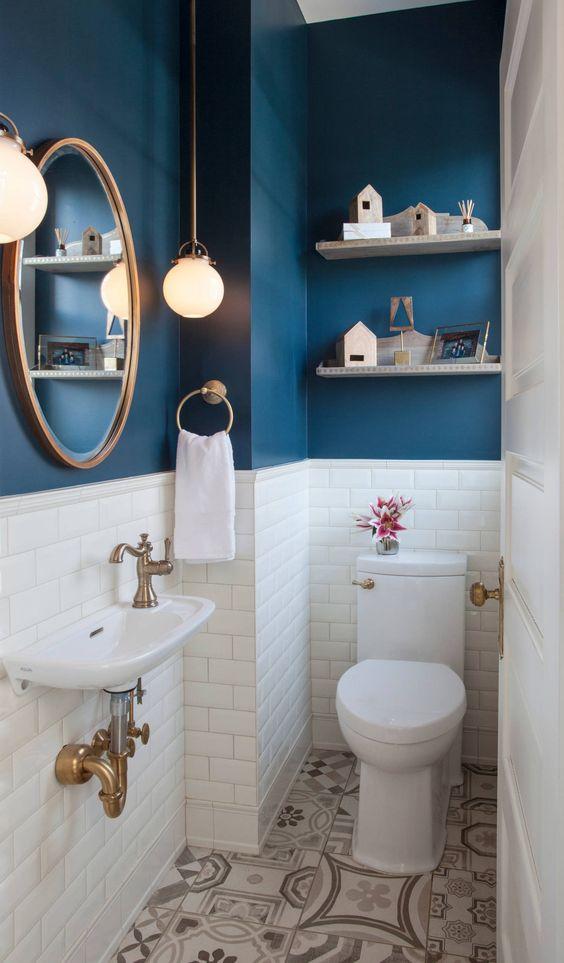 Paint it Blue – Best Bathroom Design Ideas