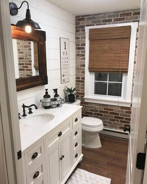A Vintage Vibe – Cover a Wall with Bricks