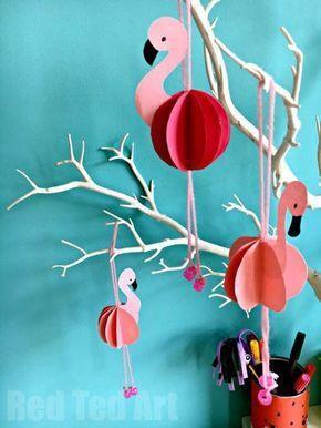 Fabulous Flamingos - Adorable Summer Home Decor