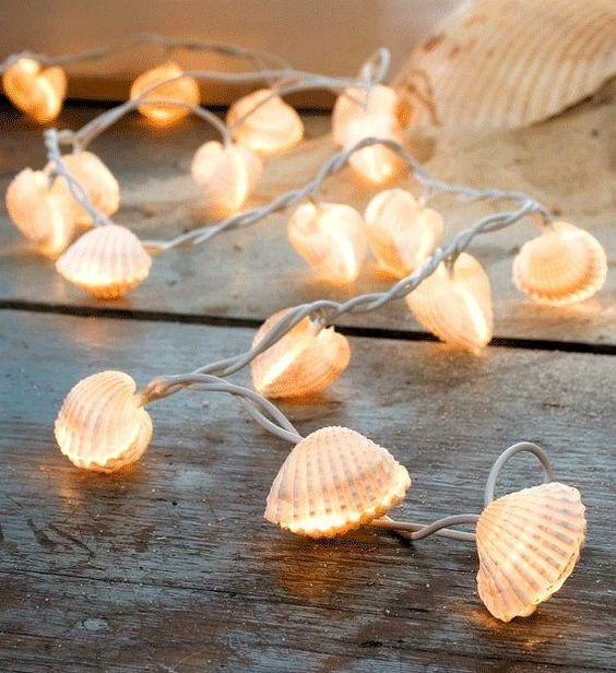 Seashell Fairy Lights - Whimsical and Gorgeous