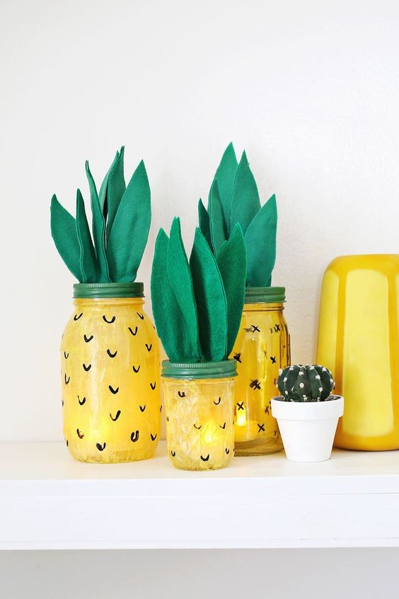 Pretty Pineapples - Cute Summer Decorations