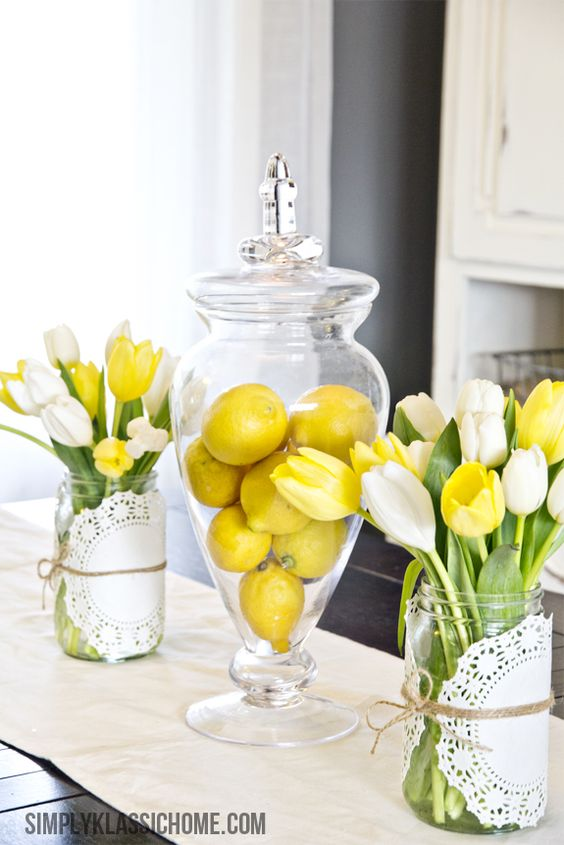 A Jar of Lemons - A Burst of Yellow