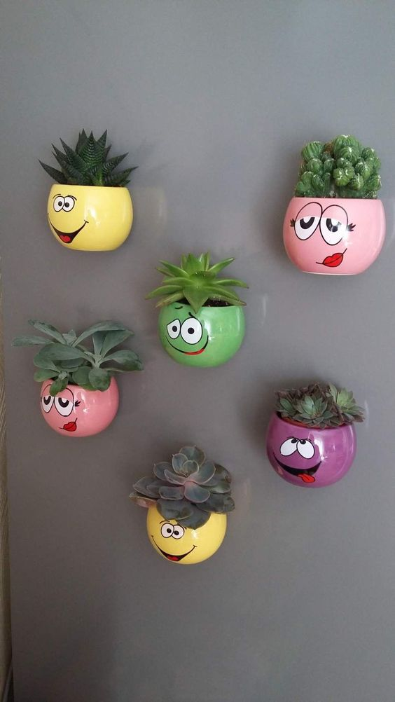 Perfect for Succulents - Funny Wall Planters