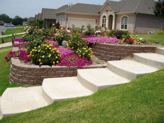 Multiple Tiered Planters - Stylish and Simple
