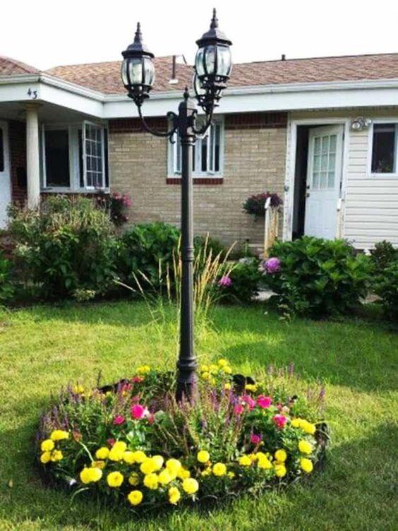 Vintage Lighting Ideas - Front Yard Landscaping