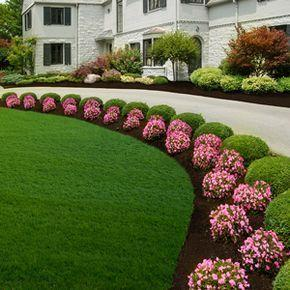 An Exquisite Look - Front Yard Landscaping Ideas on a Budget