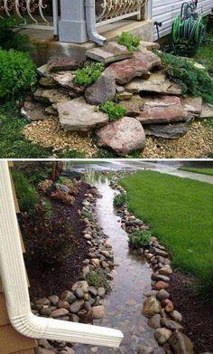 A Way for Rain Water - Getting Creative