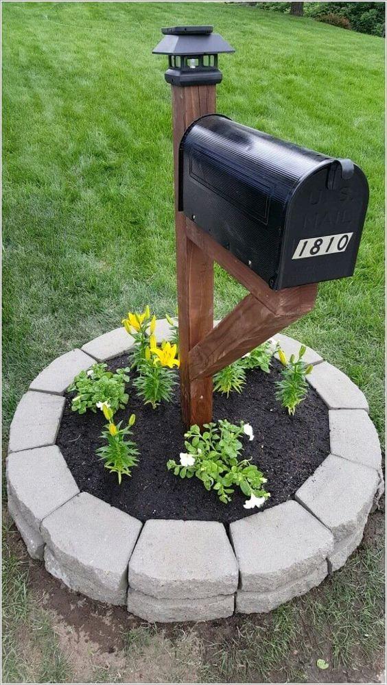 Create a Planter - Around Your Mailbox