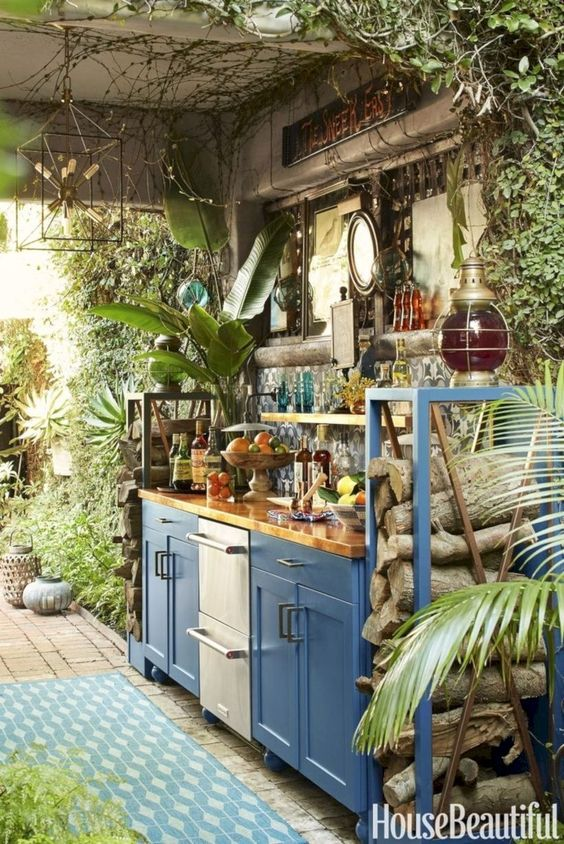 Wild and Bohemian - Overgrown with Plants