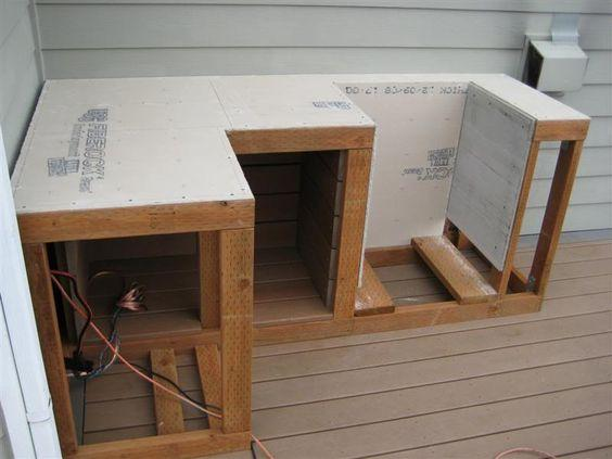 A Fabulous DIY - Constructing Your Outdoor Kitchen Cabinets