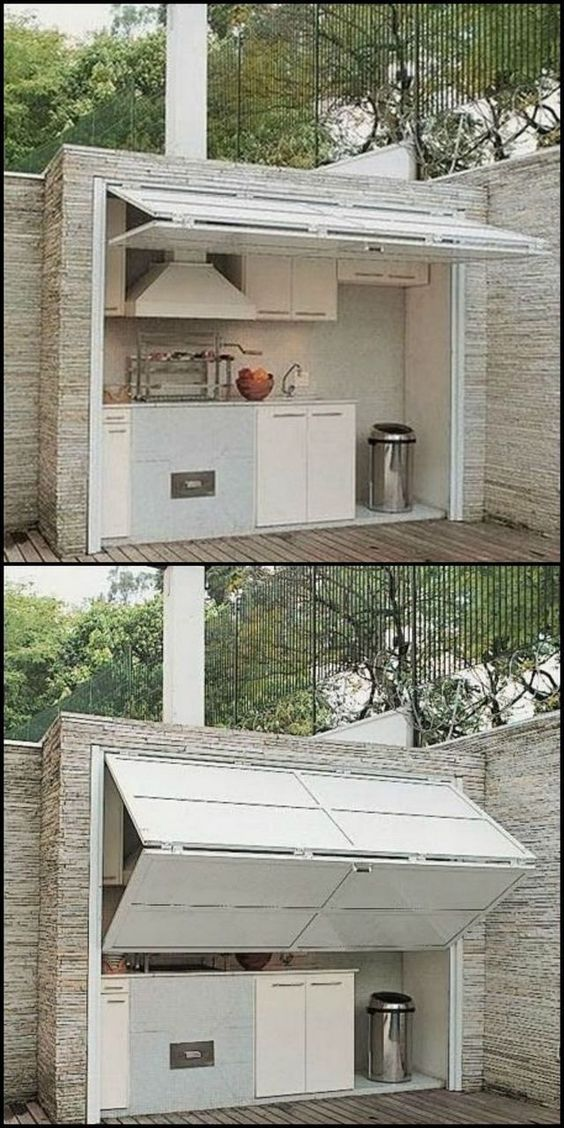 Shield Your Kitchen - Outdoor Kitchen Cabinets