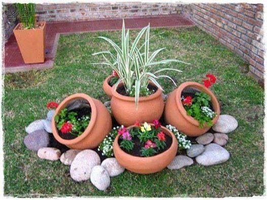 An Array of Pots - Great Garden Bed Ideas