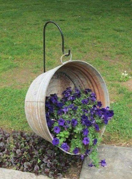 Old into New – Simple Flower Bed Ideas